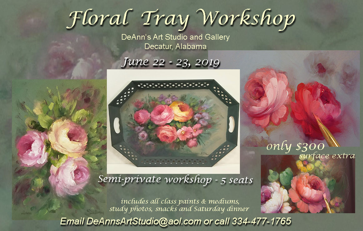 Floral Tray Workshop June 2019