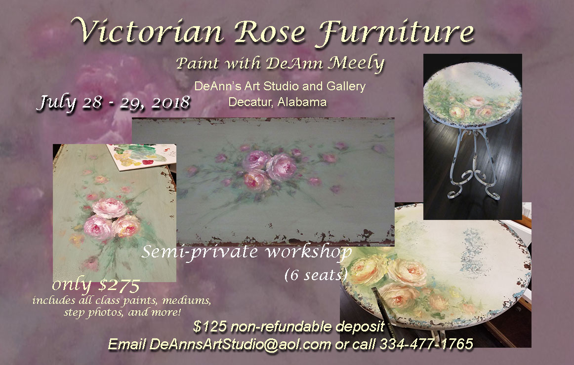 Victorian Rose seminar July 2018 FB