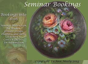 DeAnn's Art Studio Seminar Bookings